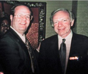 Ron & Senator Joe Lieberman