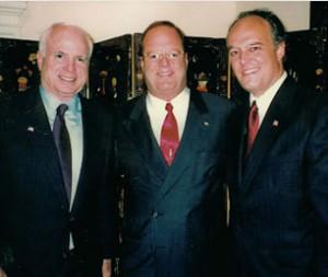 John McCain, Ron & Peter Fitzgerald