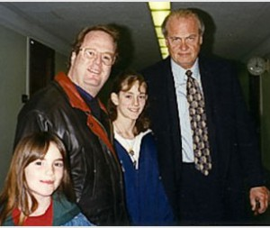 Ron & Senator, actor Fred Thompson