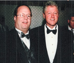 Ron & Bill Clinton