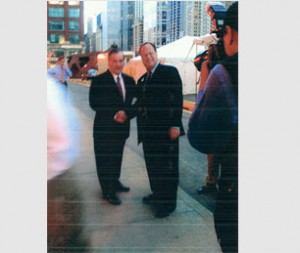Mayor Richard Daley & Ron