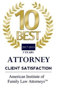 American Institute of Family Law Attorneys 10 Best for 2019